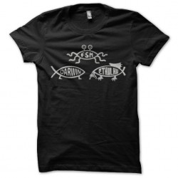 Darwin shirt black sublimation