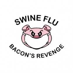 t-shirt swine flu the...