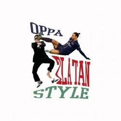 Tee shirt OPPA Zlatan Style...