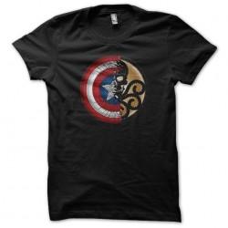 Captain America logo...