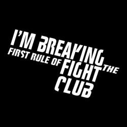 shirt club fight black sublimation