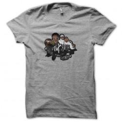 tee shirt MTV Black gray sublimation