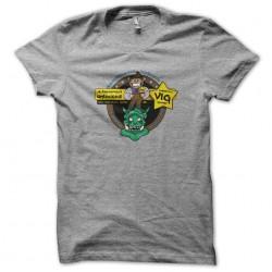 tee shirt Kantcon 2013 evenement gris sublimation