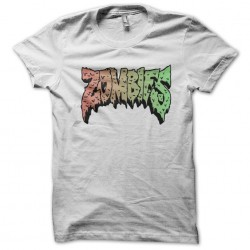 tee shirt Zombies  sublimation