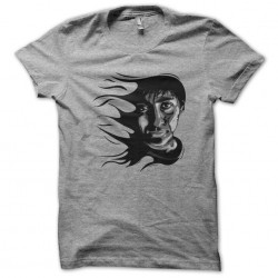 tee shirt Dark Side gris sublimation