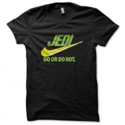 tee shirt jedi parodie nike...