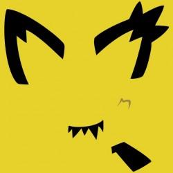 Pichu yellow pokemon sublimation tee shirt