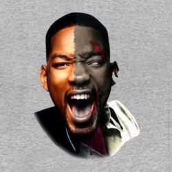 tee shirt will smith zombie sublimation