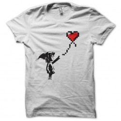 t-shirt link lache a white...