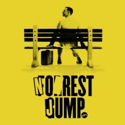 tee shirt No rest jump parody forrest yellow gum sublimation
