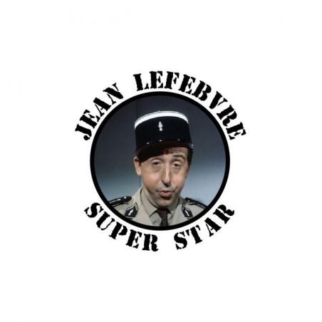 Jean Lefebvre Superstar white sublimation t-shirt