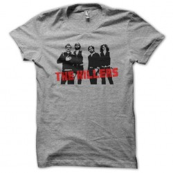tee shirt The Killers gris...