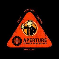 shirt fallout funny artwork black sublimation