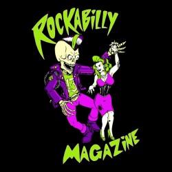 Rockabilly Magazine t-shirt black sublimation