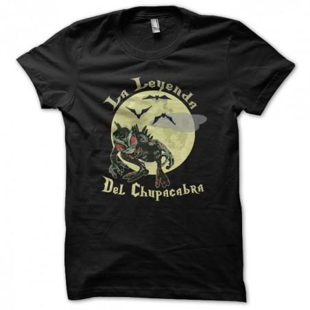 T-shirt Chupacabra the Leyenda black sublimation