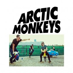 shirt arctic monkeys white...