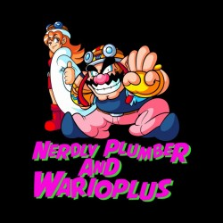 tee shirt nerdly plumber and warioplus  sublimation