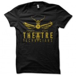t-shirt stage crew black...