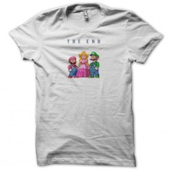 tee shirt mario the end  sublimation