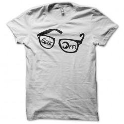 tee shirt geek off  sublimation