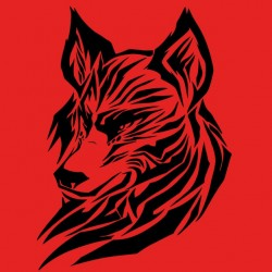 Wolf sublimation t-shirt