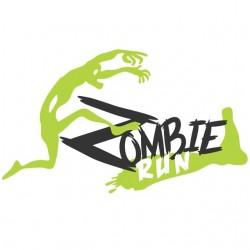 t-shirt zombie run white sublimation