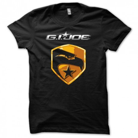 tee shirt Gijo chemise noire. sublimation