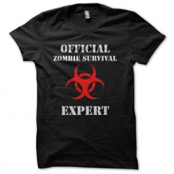 tee shirt official zombie...