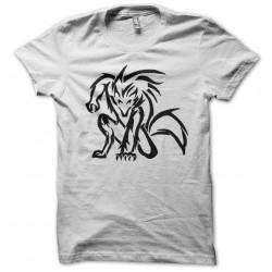 werewolf white sublimation tee