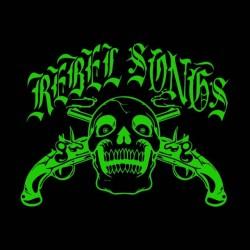 rebel songs t-shirt black sublimation