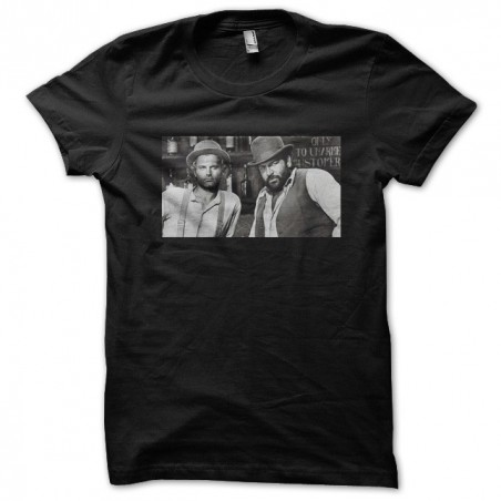 Bud Spencer Terence Hill t-shirt Carlo Pedersoli Black sublimation