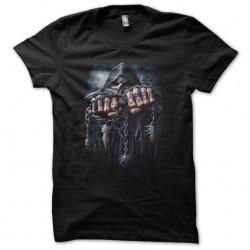 tee shirt game over black...