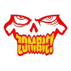 tee shirt Zombie regard qui...