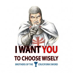 tee shirt I want You to choose wisely sublimation