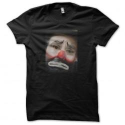 t-shirt clown sad black...