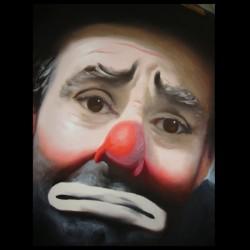 tee shirt clown triste sublimation