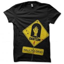 tee shirt walking dead...
