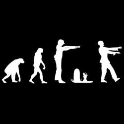 shirt evolution man zombie black sublimation