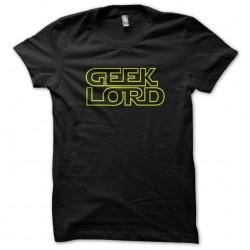 t-shirt geek lord black...