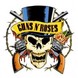 tee shirt guns roses white...