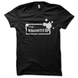 tee shirt The Shooter effects paintball black sublimation