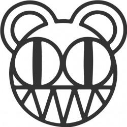 t-shirt radiohead logo...