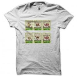 FarmVille 2 white sublimation t-shirt