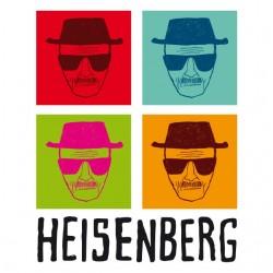 Tshirt BrBa Heisenberg warhol white sublimation