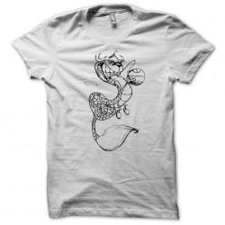 t-shirt streetball ninja white sublimation