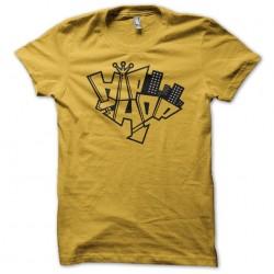 hip hop t-shirt city yellow...