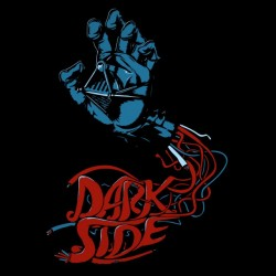 t-shirt darkside...