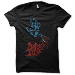 t-shirt darkside decomposition black sublimation
