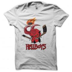 tee shirt Hellboy logo...