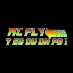 tee shirt Mc fly PD black sublimation